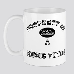 Property of a Music Tutor Mug