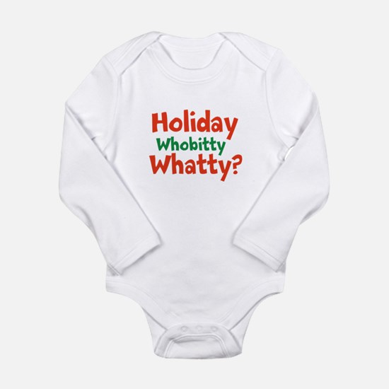 Holiday Whobitty Whatty Body Suit