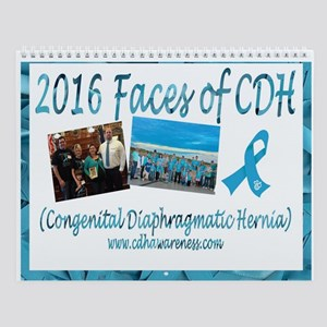 2016 Faces Of Cdh Wall Calendar