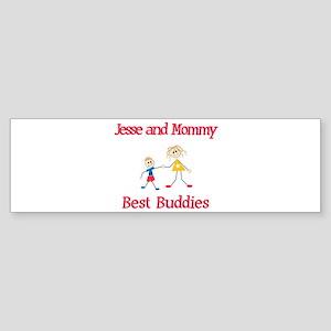 Jesse & Mommy - Buddies Bumper Sticker