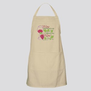 Wine Improves With Age Apron