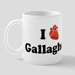 I (Heart) Gallagher Mug