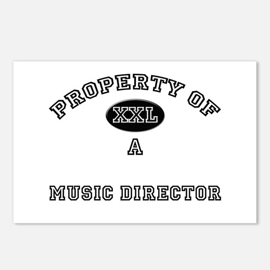Property of a Music Director Postcards (Package of