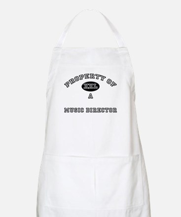 Property of a Music Director BBQ Apron
