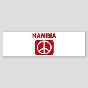 NAMIBIA for peace Bumper Sticker