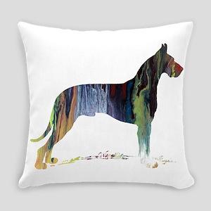 Great Dane Everyday Pillow
