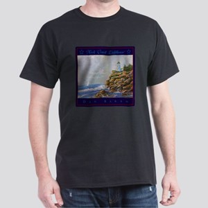 Rock Coast Lighthouse T-Shirt