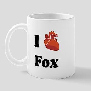 I (Heart) Fox Mug