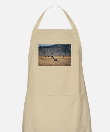 Yellowstone Bison and Antelope Apron