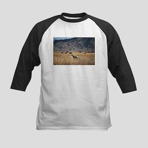 Yellowstone Bison and Antelope Baseball Jersey