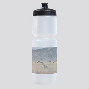 Yellowstone Bison and Antelope Sports Bottle