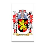 Matthewson Rectangle Car Magnet