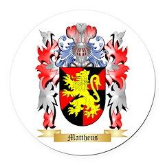 Mattheus Round Car Magnet