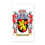 Matthesius 35x21 Wall Decal
