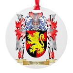 Mattheeuw Round Ornament