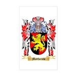 Mattheeuw Sticker (Rectangle)