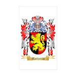 Mattheeuw Sticker (Rectangle 50 pk)