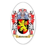 Mattheeuw Sticker (Oval 10 pk)