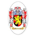 Mattheeuw Sticker (Oval 50 pk)