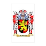 Matthaus Sticker (Rectangle 10 pk)