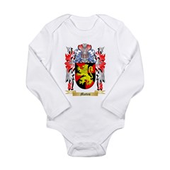 Mattes Long Sleeve Infant Bodysuit