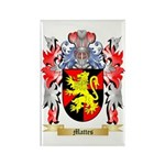 Mattes Rectangle Magnet (100 pack)