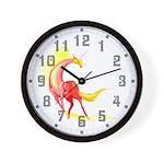 Shining Unicorn Wall Clock