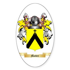 Matter Sticker (Oval)