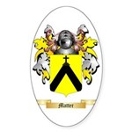 Matter Sticker (Oval 50 pk)