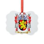 Matten Picture Ornament