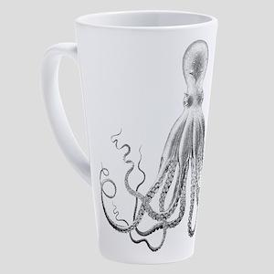 Gothic Tentacle 17 oz Latte Mug