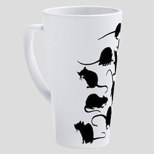 Lots Of Rats 17 oz Latte Mug