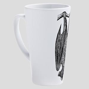 bat-hanging-new_tr 17 oz Latte Mug