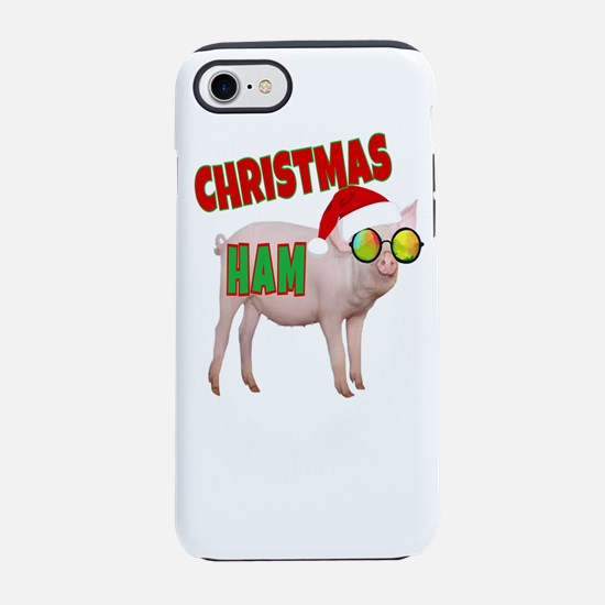 CHRISTMAS HAM iPhone 8/7 Tough Case