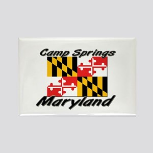 Camp Springs Maryland Rectangle Magnet