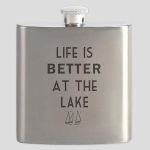 Lake Life Flask