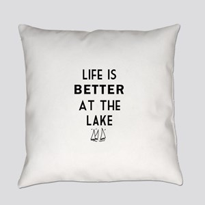 Lake Life Everyday Pillow