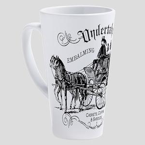 Undertaker Vintage Style 17 oz Latte Mug