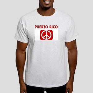 PUERTO RICO for peace Light T-Shirt