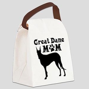 Great Dane Mom Canvas Lunch Bag