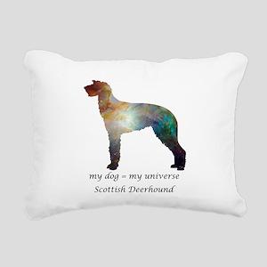 SCOTTISH DEERHOUND Rectangular Canvas Pillow