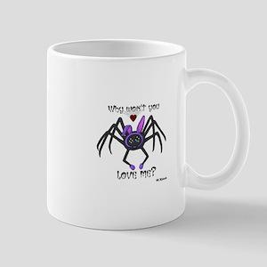 Heart-Broken Spider Mugs