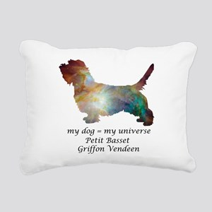 PETIT BASSET GRIFFON VEN Rectangular Canvas Pillow