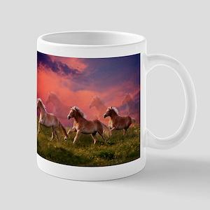 HAFLINGER HORSES Mugs