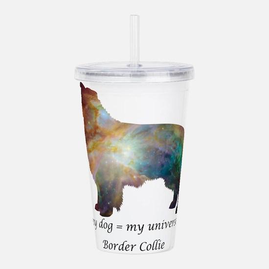BORDER COLLIE Acrylic Double-wall Tumbler