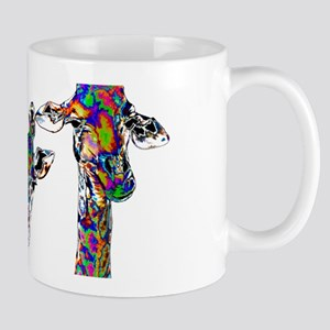 Giraffes in New Pajamas Mugs