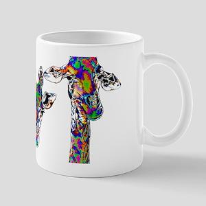 Giraffes in New Pajamas Mugs