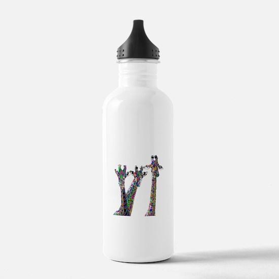 Giraffes in New Pajama Water Bottle