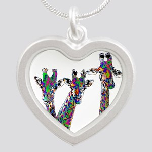 Giraffes in New Pajamas Necklaces