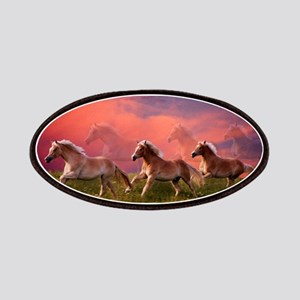 HAFLINGER HORSES Patch